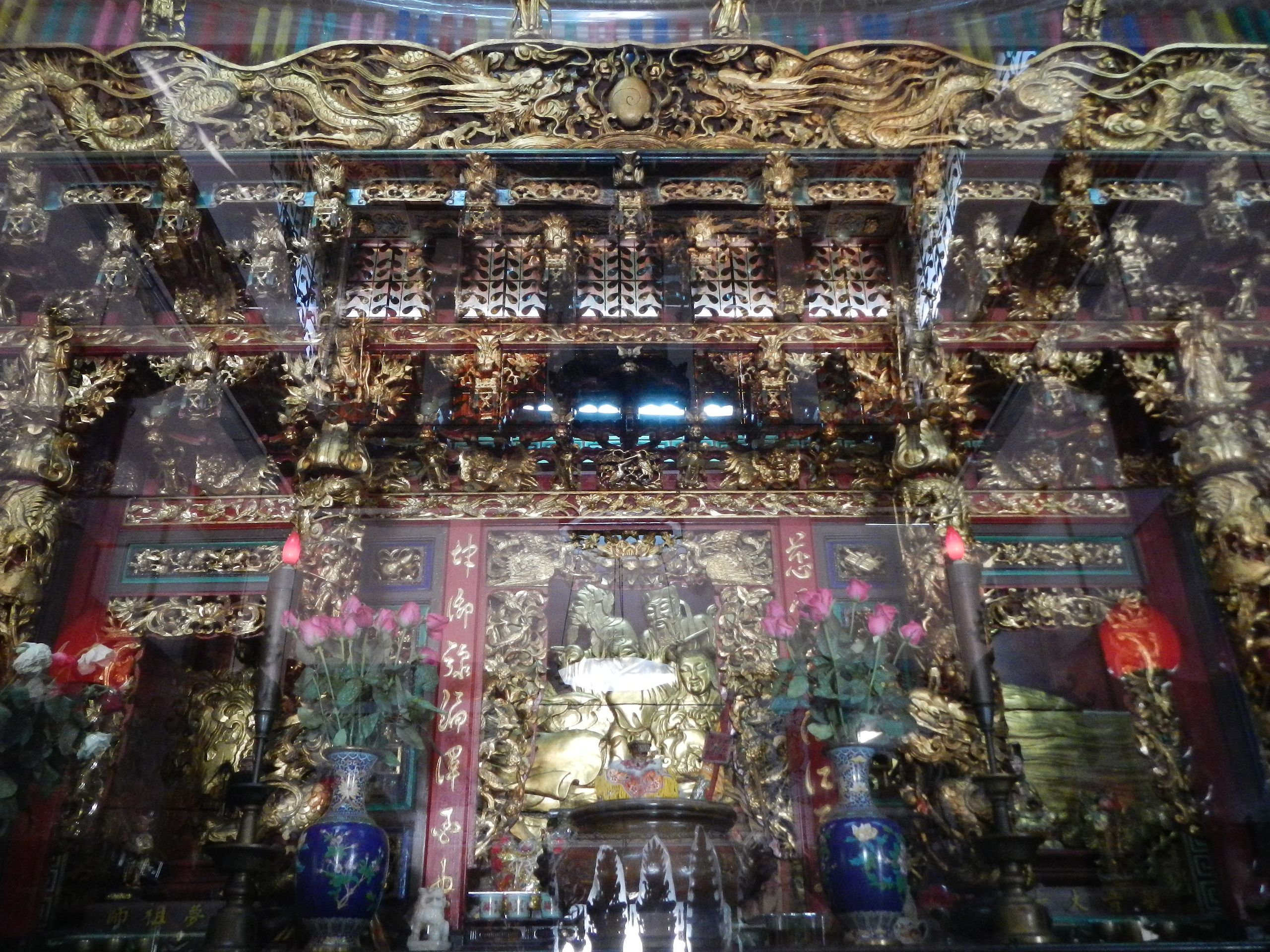 The main altar of Ma-ChoTemple